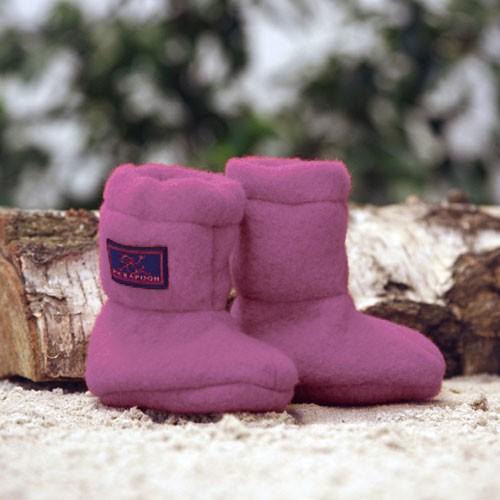 Pickapooh Stiefel Wollfleece, pink