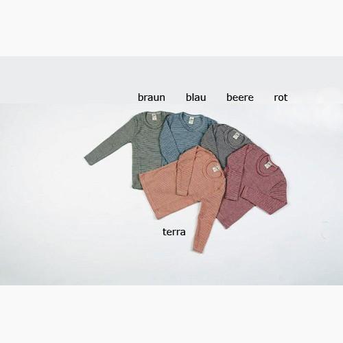 Lilano Ringel-Unterhemd, Wolle-Seide