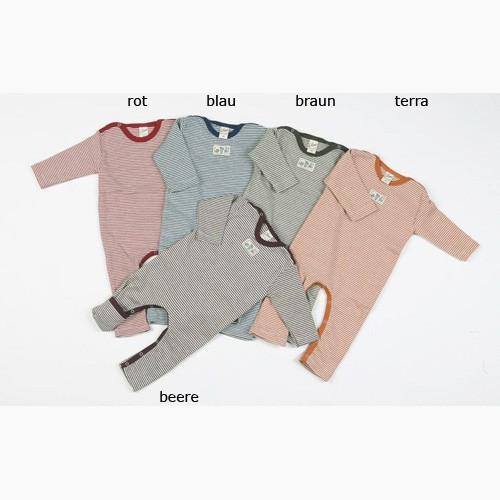 Lilano Ringel-Anzug mit Beinumschlag, Wolle-Seide