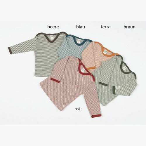 Lilano Ringel-Shirt 1/1 – Arm, Wolle-Seide