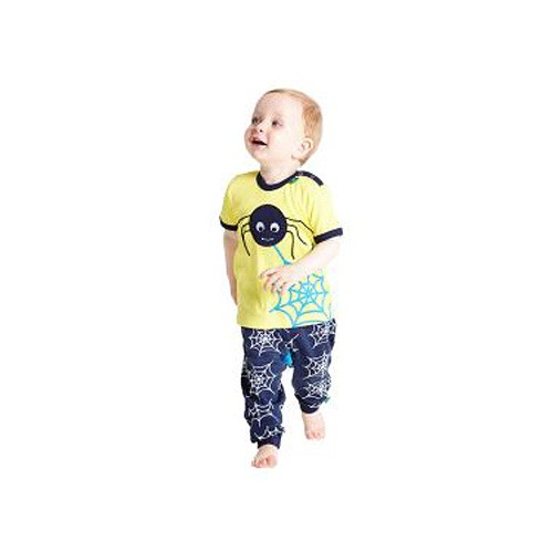 Freds World Kinder Kurzarm T-Shirt mit Spinnenprint, 100% Baumwolle