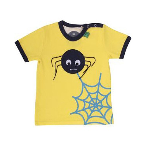 Freds World Baby Kurzarm T-Shirt mit Spinnenprint, 100% Baumwolle