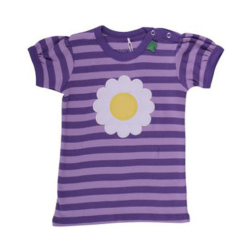 Freds World Kurzarm Baby T-Shirt mit Margeritenapplikation, 100% Baumwolle
