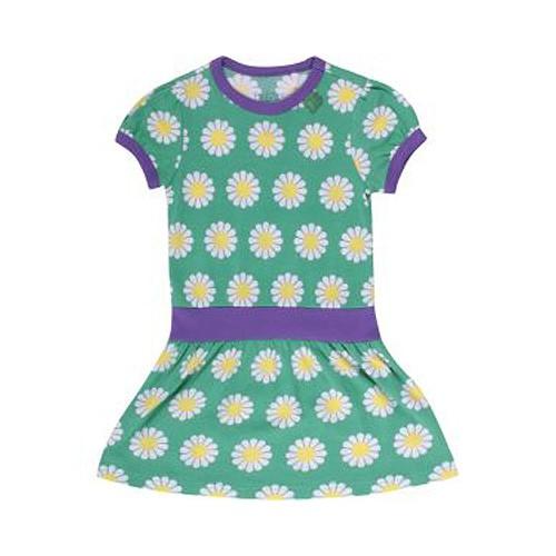 Freds World Mädchen Kleid mit Margeritenprint, 100% Baumwolle