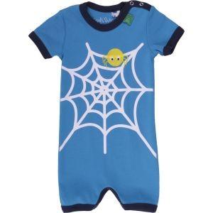 Freds World Strand Body mit Spinnenprint , 100% Baumwolle, blau