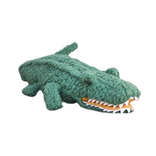 Plü natur Krokodil Handspielpuppe