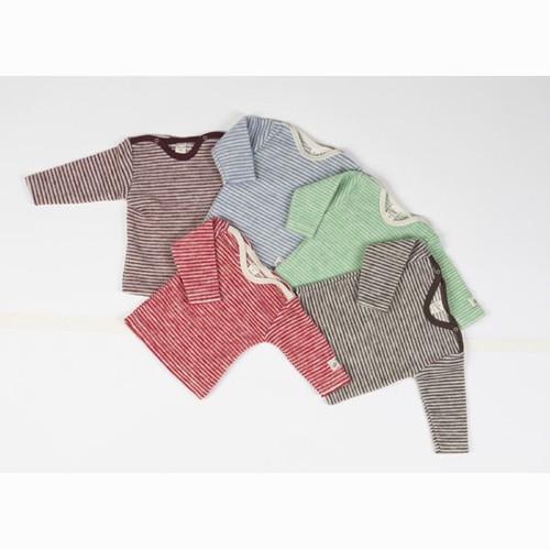 Lilano Ringel-Shirt 1/1–Arm, Wollfrotte-Plüsch