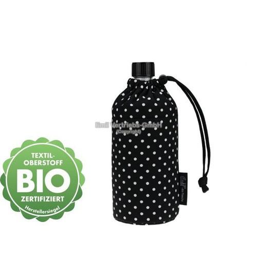 EMIL die Flasche, Design: BIO-Punkte Schwarz