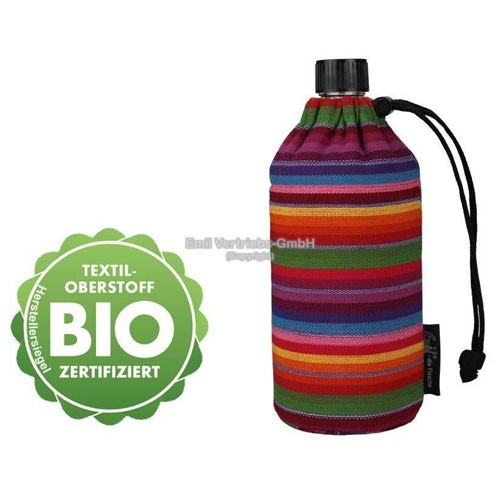 EMIL die Flasche, Design: BIO-Streifen