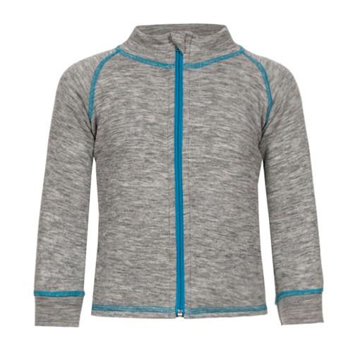 Engel Kinder-Jacke sportiv, hellgrau melange