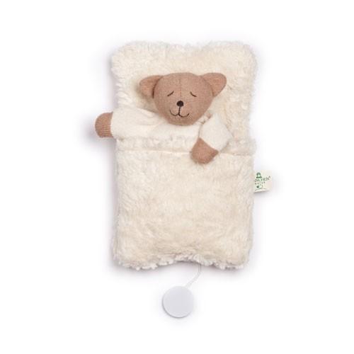 Bären-Spieluhr im Schlafsack
