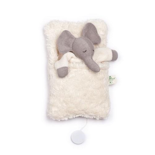 Elefanten-Spieluhr im Schlafsack