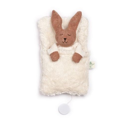 Hasen-Spieluhr im Schlafsack