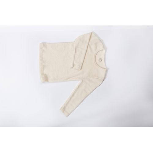 Lilano Unterhemd, Wolle-Seide, natur