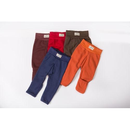 Lilano Nabelbundhose mit Beinumschlag, Wolle-Seide, verschiedene Farben