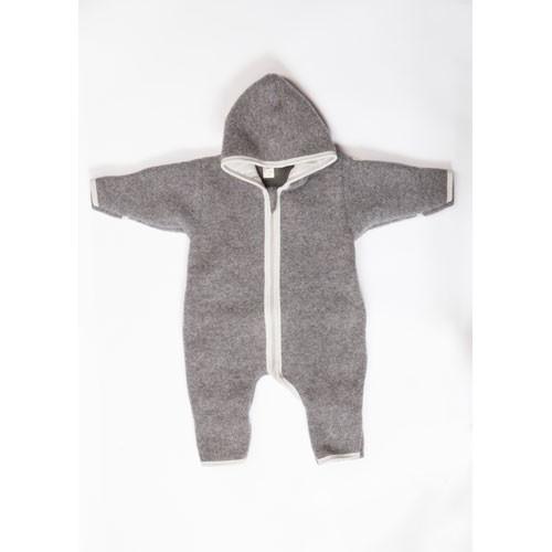 Lilano Wollfleece Anzug, grau
