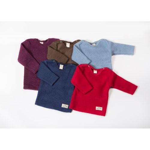 Lilano Shirt 1/1–Arm, Wollfrotte-Plüsch, verschiedene Farben