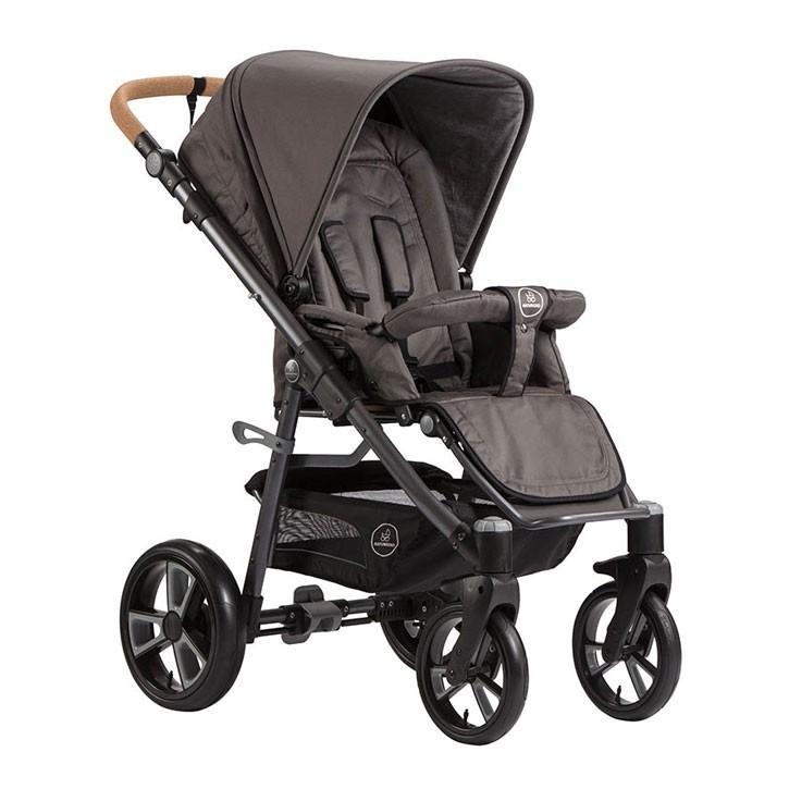 Naturkind Kinderwagen Lux, Design Erdmännchen