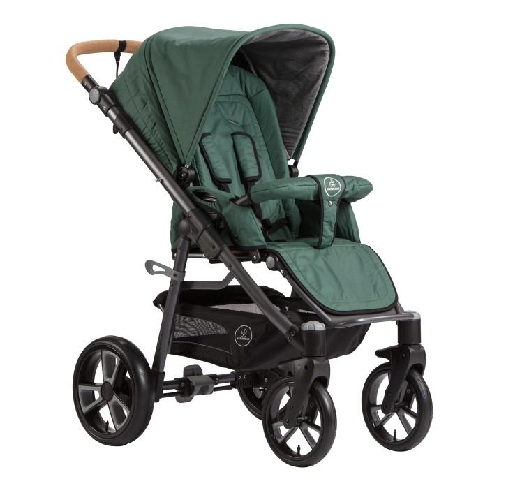 Naturkind Kinderwagen Lux, Design Salbei