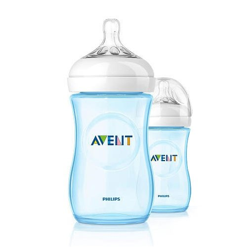 Philips Avent Naturnah-Flasche PP, blau, 260ml, Doppelpackung