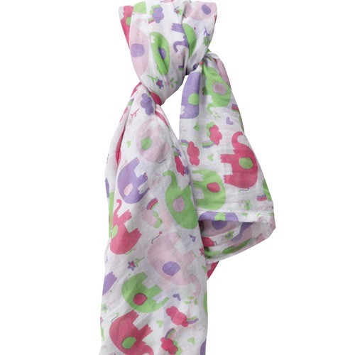 Piccalilly Mulltuch, Elephant Rainbow Pink