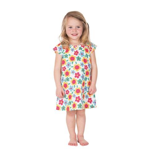 Frugi Penpol Kleid mit Höschen, Summer Garden