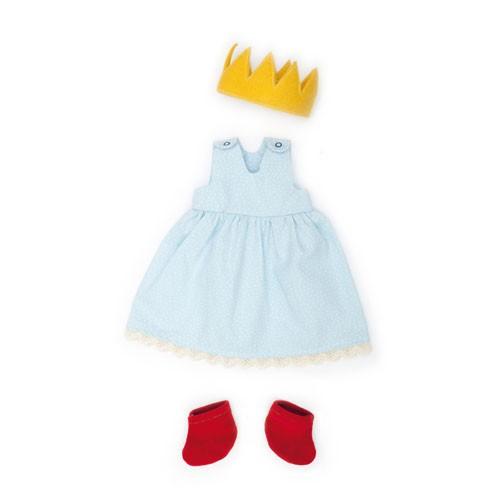 Prinzessin hellblau, Puppenkleidung