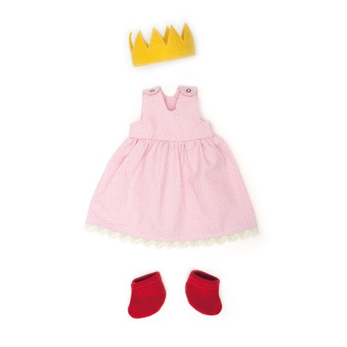 Prinzessin rosa, Puppenkleidung