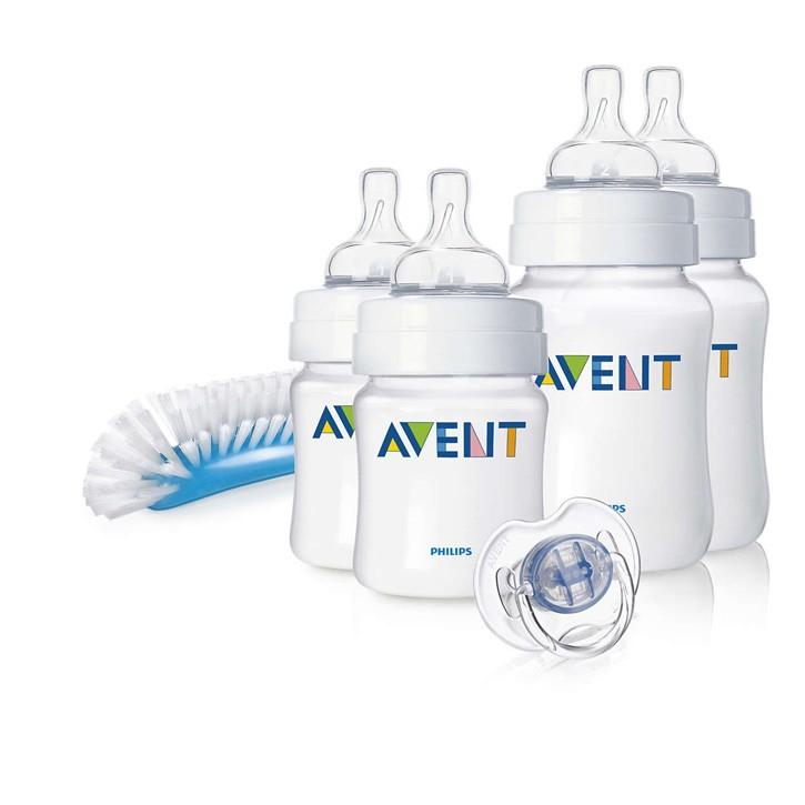 Philips Avent Naturnah Starter-Set für Neugeborene SCD271/00, Sonderpreis