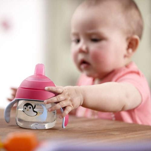 Philips Avent Becher mit Trinkschnabel, pink