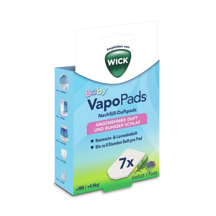WICK® VapoPads® Nachfüll-Duftpads Rosmarin/Lavendel ab 3M
