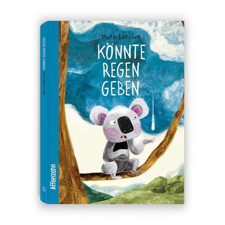 """Affenzahn Bilderbuch """"Könnte Regen geben"""" 44 Seiten ab 4 Jahren"""