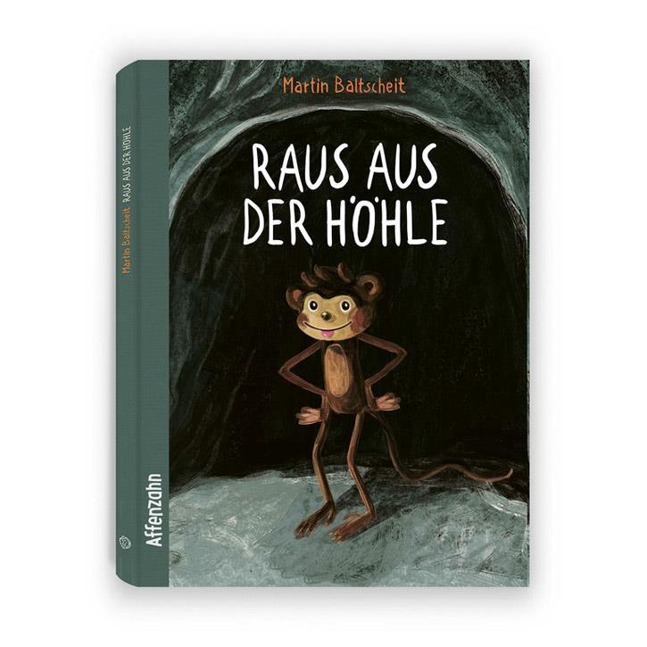 """Affenzahn Bilderbuch """"Raus aus der Höhle"""" 44 Seiten ab 4 Jahren"""