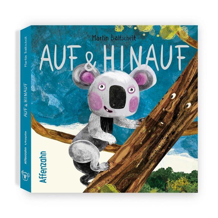 """Affenzahn Pappbuch """"Auf und hinauf"""" 22 Seiten ab 2 Jahren"""