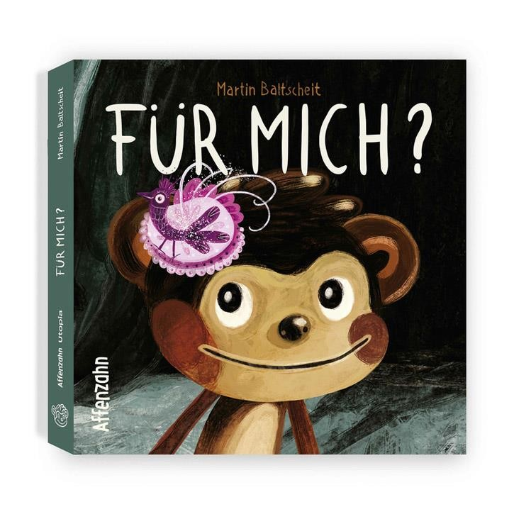 """Affenzahn Pappbuch """"Für mich?"""" 22 Seiten ab 2 Jahren"""