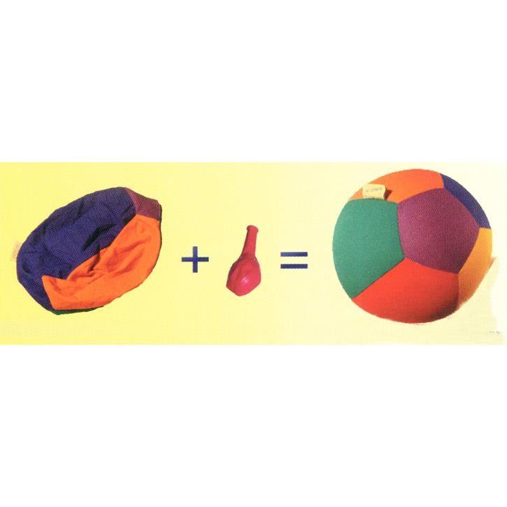 Aurich 40560 Luftmatz,Baumwollhülle,5farbig 3 für Luftballons 60-100cm  D16cm