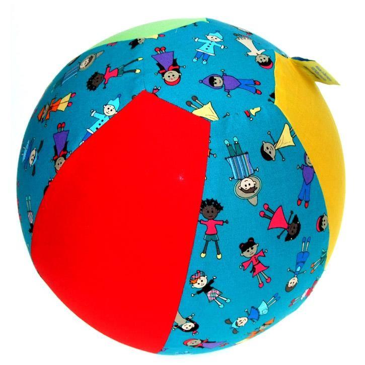 Aurich 40564 Luftmatz Friends,Baumwollhülle 3 für Luftballons 90-110cm Sonderedition Kinderdruck D27cm