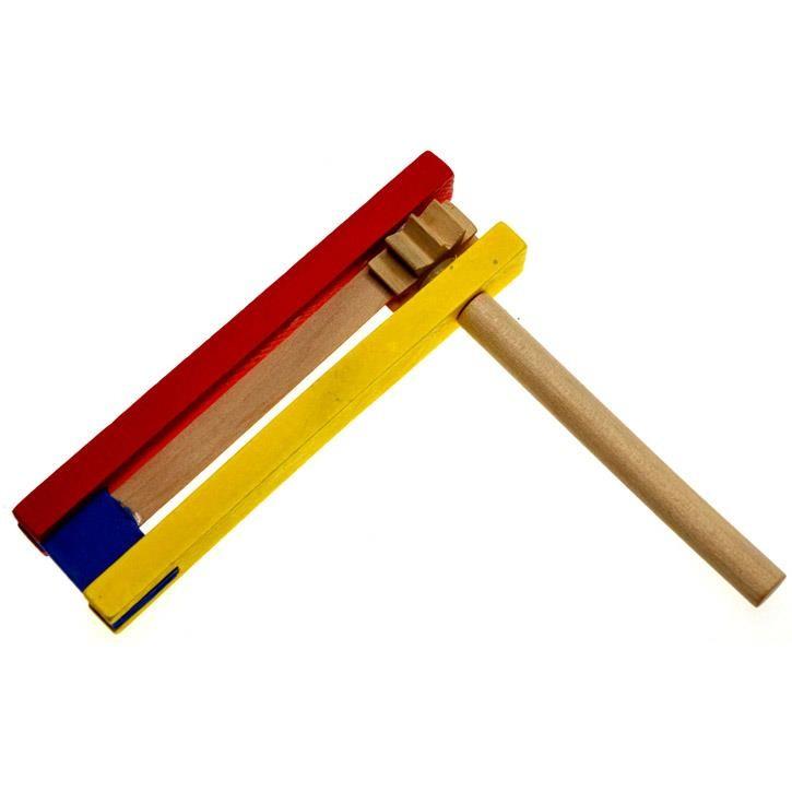 Aurich 43379 Ratsche 1-rad,farbig 3   14cm