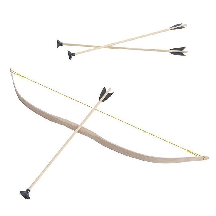 Aurich 50036 Bogen klein + 3 Pfeile 40cm 4 mit Saugnapf Sportgerät,Alter:4-6 Jahre 90cm