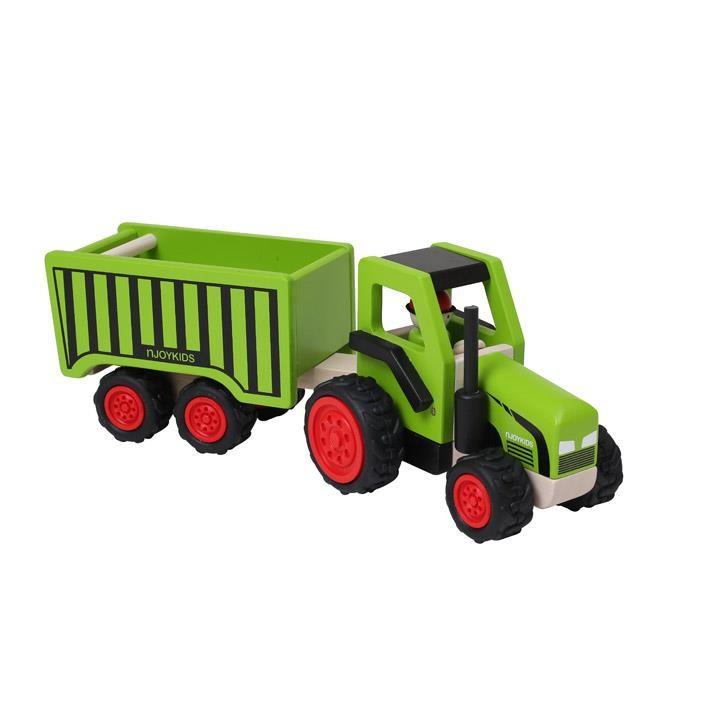 Aurich 85734 Traktor mit Kippanhänger 3 San 14101  38x13x14cm