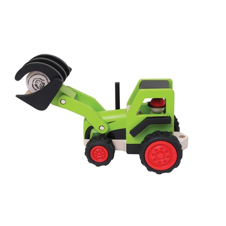 Aurich 85736 Traktor mit Ladeschaufel 3 San 14102  29x13x14cm