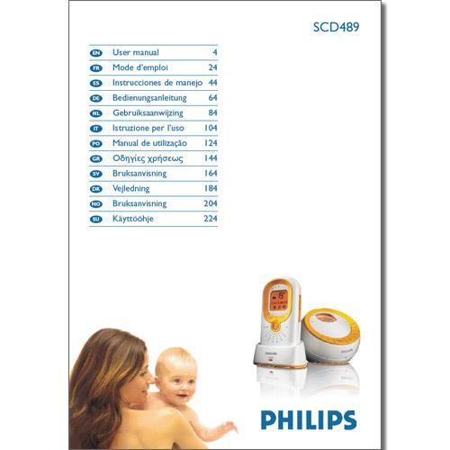 Benutzerhandbuch SCD489 - in gedruckter Form