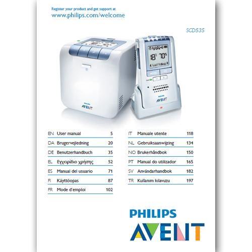 Benutzerhandbuch SCD536 - in gedruckter Form