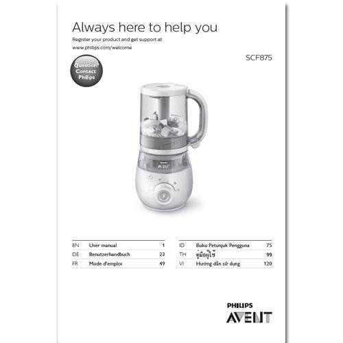 Benutzerhandbuch SCF875 - kostenloser Download