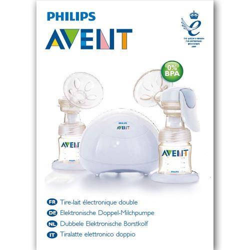 Benutzerhandbuch elektr. Milchpumpe DUO - in gedruckter Form