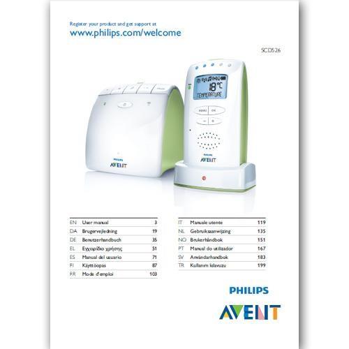 Benutzerhandbuch SCD526 - in gedruckter Form