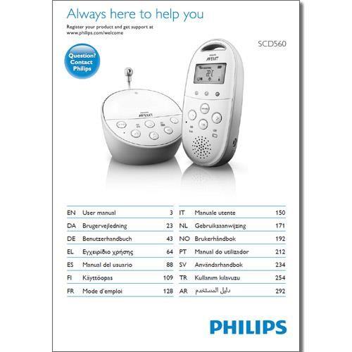 Benutzerhandbuch SCD560 - in gedruckter Form