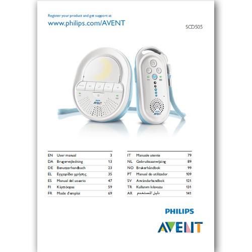 Benutzerhandbuch SCD505 - in gedruckter Form