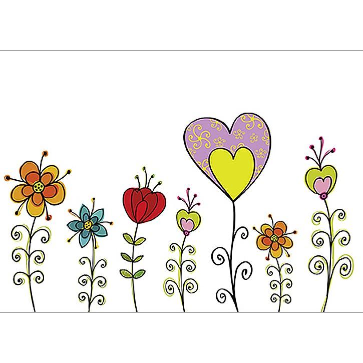 Geschenkgutschein Herzblume