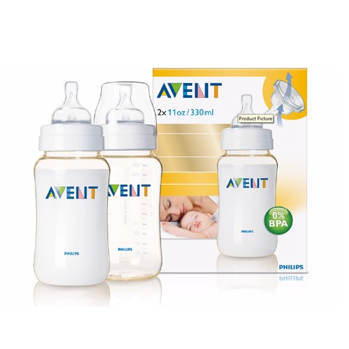 Philips Avent Classic-Flasche PES, 330ml, Doppelpackung - unser Sparpreis